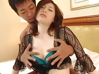 Pretty Busty Japanese Hairy Cunt Fucked