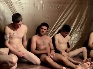Gay orgy Piss Loving Welsey And The Boys