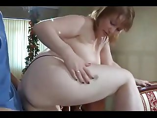 Mature Woman Catches Young Boy Masturbating