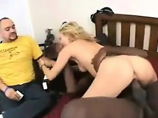 Guy Watches Girlfriend Get Fucked