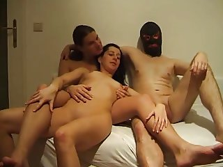 Amateur - Hot German BiSex MMF Threesome
