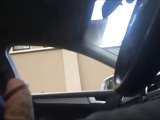 Dick flash to two mommy's in my car, one sees and likes