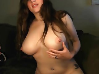 Amateur has a very hairy pussy