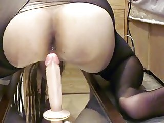 my video - crossdresser rides on mirror