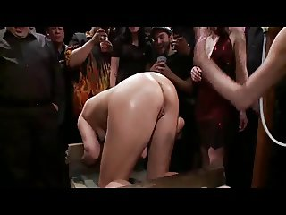 Public slave anal drilling 1 of 4