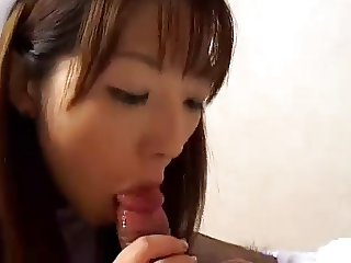 SHAVED JAPANESE NURSE