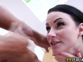 Pov whore gets facialized