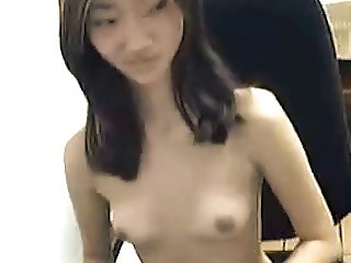 Skinny Asian girl
