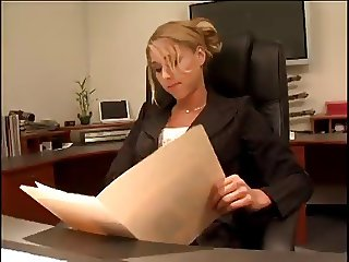 Sexy Boss Katie Morgan Screws The Summer Intern Video