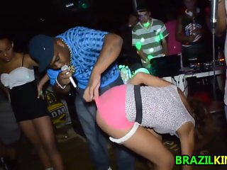 Brazilians Shaking Ass At The Club