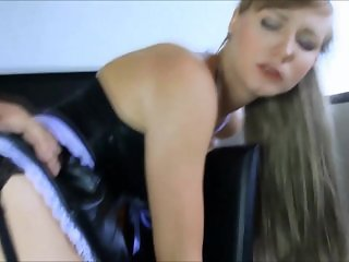 Maid gets fucked and facial