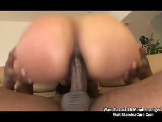 Jazmine Cashmere Gets rammed in her ass