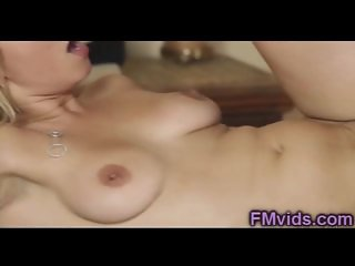 Sexy blonde fucked by horny masseur