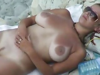 Sexy Babe at the Beach