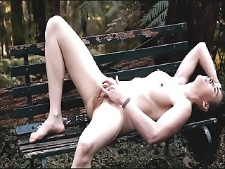 she loves to masturbate in the park