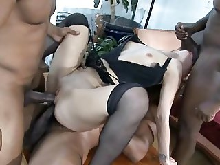 Insatiable Interracial Bitches - Amber Rayne
