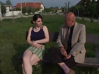 oldman taking young girl from park for sex