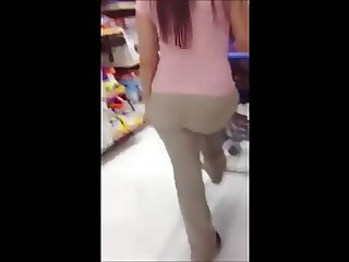 Fat Ass MILF at Walmart #1