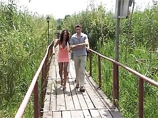 Not My son visit his GF in Romania