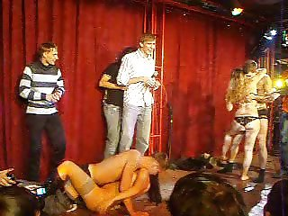Bar strip contest