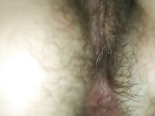 my wife nice hairy asshole