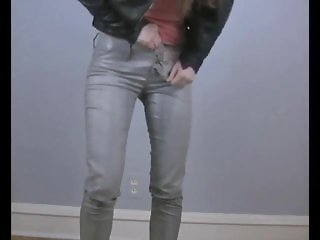 Desperation Jayne - Jayne,s Shiny Wet Jeans
