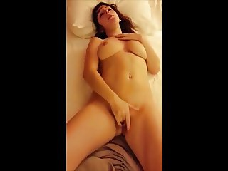 Playing with herself before being fucked
