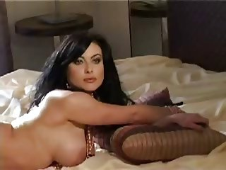 The bulgarian pop-singer in a playboy (Liana)