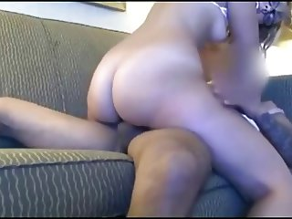 Cumming on a Hot Blonde Teen's Ass