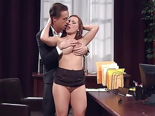 Hot sex in office