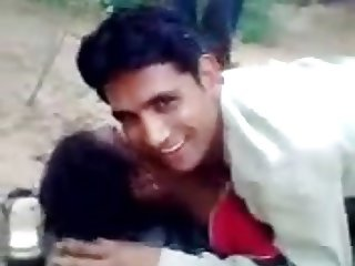 Desi couple fucking outside