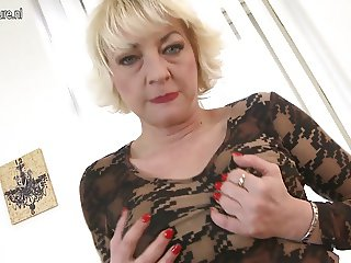 Kinky mother suck and fuck not her son