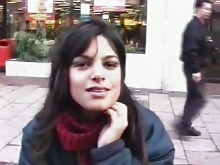 Indian girl from off the street