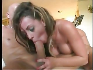 Busty blonde whore getting cock