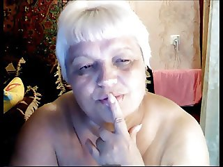 Russian Granny naked