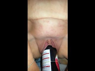 hot milf first time with a bottle
