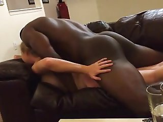 Vocal Wife Fucked Hard While Cuckold Watchs