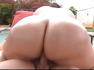 HOT FUCK #203 Gorgeous BBW by the Pool
