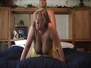 Hubby fucks wife doggystyle