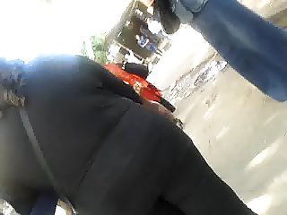 sexy egyption ass in street