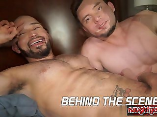 Brutal twinks first facial