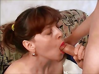 adult woman concerns the sex with young person