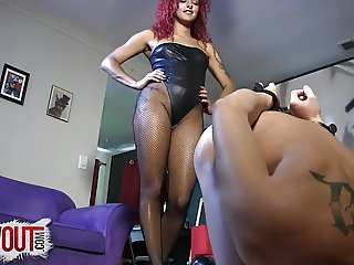PEGGING THE NEW SISSY SLUT ROOMATE