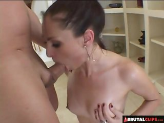 BrutalClips - Facefucked And Spoonfed Jizz