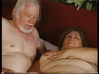 grandma and grandpa - both masturbating
