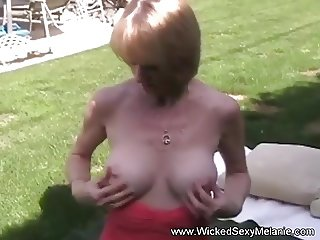 GILF Interview Turns Into Blowjob