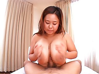 Japanese with natural monster boobs