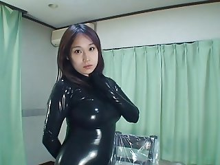 Japanese Latex Catsuit 31