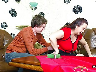 Young German Boy Seduce His Step Mother to Fuck First Time