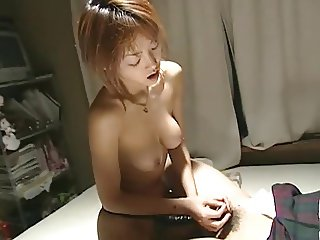Japanese strapon and fuck man with skirt (uncensored)